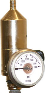 Constant Flow Pressure Regulator for use on SIPCYL 110 Non-refillable Cylinders